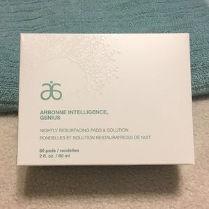 Arbonne intelligence genius resurfacing pads